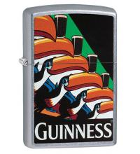 Zippo - Street Chrome Toucan Guinness -  Windproof Lighter