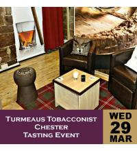 Turmeaus Tobacconist Chester Tasting Event 29/03/17