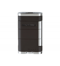 Xikar Allume Twin Double Jet Lighter - Black