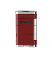 Xikar Allume Double Jet Lighter - Red