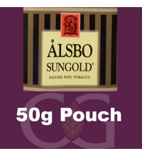 Alsbo Sungold Pipe Tobacco 050g Pouch