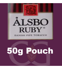 Alsbo Ruby Pipe Tobacco 050g Pouch