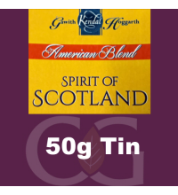 American Blends Spirit of Scotland 50g Tin