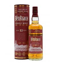 BenRiach 12 Year Old Sherry Wood Single Malt Scotch Whisky - 70cl 46%