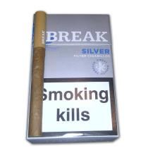 Break Filter Cigarillo - Silver - Pack of 17