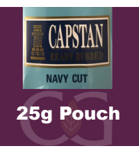 Capstan Ready Rubbed Pipe Tobacco - 25g Pouch