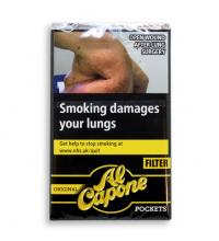 Al Capone Pockets Original Filter Cigarillos - Pack of 10