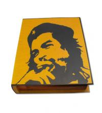 SALE - SLIGHT SECONDS - Book Shape Che Humidor - 20 Cigars Capacity