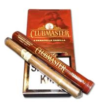Clubmaster Tubed Panatella Cigar - Vanilla - Pack of 4