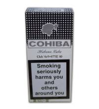 Cohiba Club - White – Pack of 10