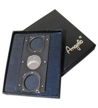 Credit Card Style Cigar Cutter - Gunmetal