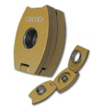Credo 3 in 1 Cigar Punch Cutter – Oval – Gold