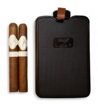 Davidoff Robusto Real Especiales 2019 + Discovery Hipflask Sampler