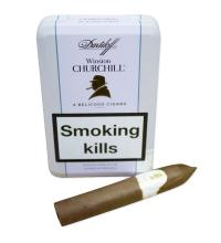 Davidoff Winston Churchill Belicoso Cigar (the new Lancaster) - Tin of 4