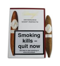 Davidoff Short Perfecto Cigar - Pack of 4