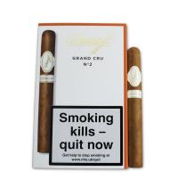 Davidoff Grand Cru No. 2 Cigar - Pack of 5 cigars
