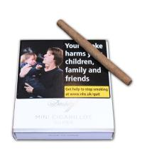 Davidoff Mini Cigarillos - Silver - Pack of 20