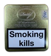 Davidoff Mini Limited Edition Blend – Tin of 10 Cigarillos