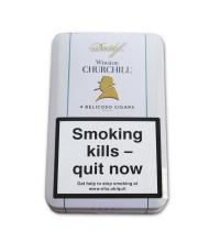 Davidoff Winston Churchill Belicoso Cigar  - Tin of 4