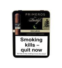 Davidoff Escurio Primeros Cigar - Tin of 6