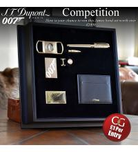 Competition Entry - ST Dupont Ltd Edition 123/400 James Bond 007 - Collector Set Prize
