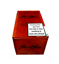 Empty Flor de Oliva Original Cigar Box
