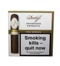 Davidoff 702 Series Aniversario Entreacto Cigar - Pack of 4