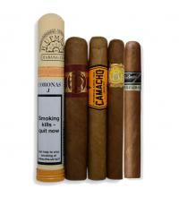 FLASH SALE - The Perfect Afternoon Sampler - 5 Cigars