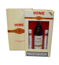 Hine Cognac 20cl and Romeo Cigars - Havana Gift Box