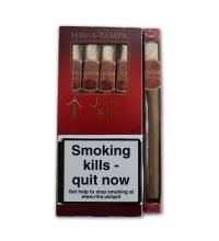 Hav A Tampa Jewels Birchwood Tipped Red - 5 pack