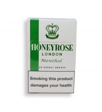 Honeyrose London Menthol Flip Top - 1 Pack of 20 Herbal Cigarettes (20)