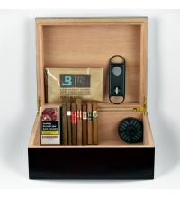 Limited Time Flash Quick Puff Filled Humidor Sampler – 17 Cigars