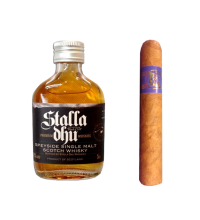 C.Gars Ltd Blue Sampler - 1 Cigar and Speyside Miniature