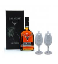 Dalmore King Alexander III + Two Whisky Glasses Sharing Set