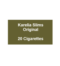 Karelia Slims Original - 1 Pack of 20 cigarettes (20)