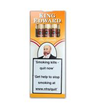 King Edward Birchwood Tip Cigarillos - Pack of 5
