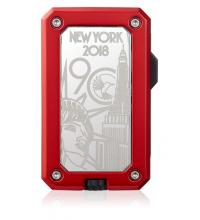 Colibri 90th Anniversary Rally Limited Edition Lighter - Red (End of Line)