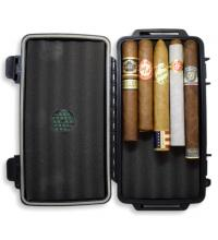 Long Weekend Sampler - Crushproof Travel Cigar Case + 5 Cigars