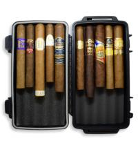 Long Bank Holiday Weekend Sampler - Crushproof Travel Cigar Case + 10 Cigars