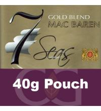 Mac Baren 7 Seas Pipe Tobacco Gold 040g Pouch