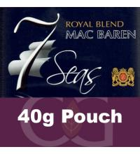 Mac Baren 7 Seas Pipe Tobacco Royal 040g Pouch