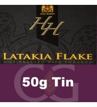 Mac Baren HH Latakia Flake Pipe Tobacco 050g Tin