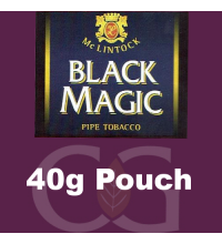McLintock Black Magic Pipe Tobacco 40g Pouch