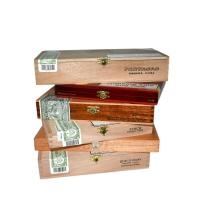 Empty Cigar Boxes - Wooden Type - Small/Medium LUCKY DIP