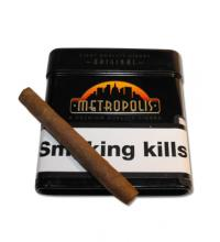 Metropolis Cigarillos Tin - Tin of 8