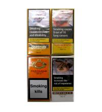Cuban Mini Cigar Sampler - 4 Packs of 10