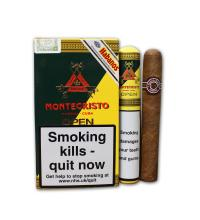 Montecristo Open J Tubed Cigar - Pack of 3