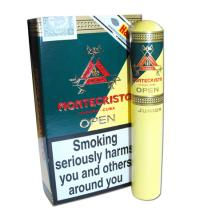 Montecristo Open Junior Tubed Cigar - Pack of 3