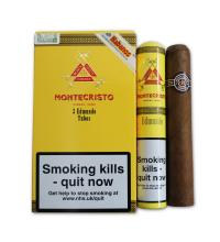 Montecristo Edmundo Tubed Cigar - Pack of 3