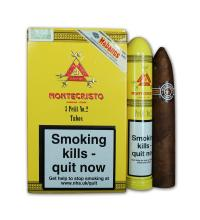 Montecristo Petit No. 2 Tubos Cigar - Pack of 3